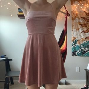 Blush Pink L.A Hearts Mini Dress